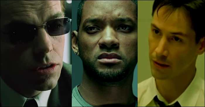 Matrix protagonizada por Will Smith